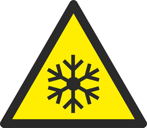 Warning Low temperature / freezing conditions - Symbol sticker sheet
