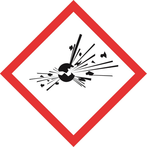 Hazardous Diamonds - Explosive