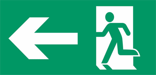 Emergency Escape - Running Man Left - Left Arrow