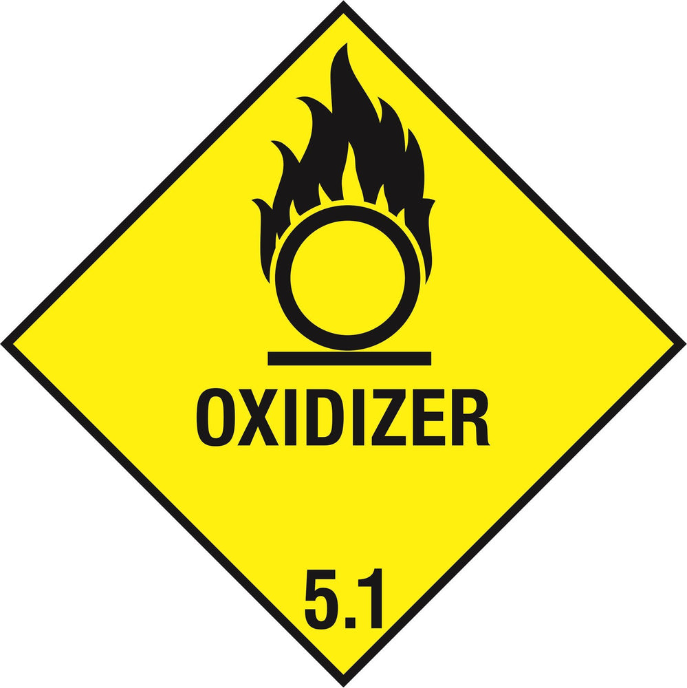 Hazardous Diamond - OXIDIZER 5.1