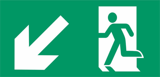 Emergency Escape - Running Man Left - Down Left Arrow