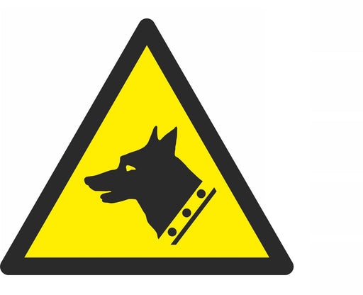 Warning Guard dog - Symbol sticker sheet