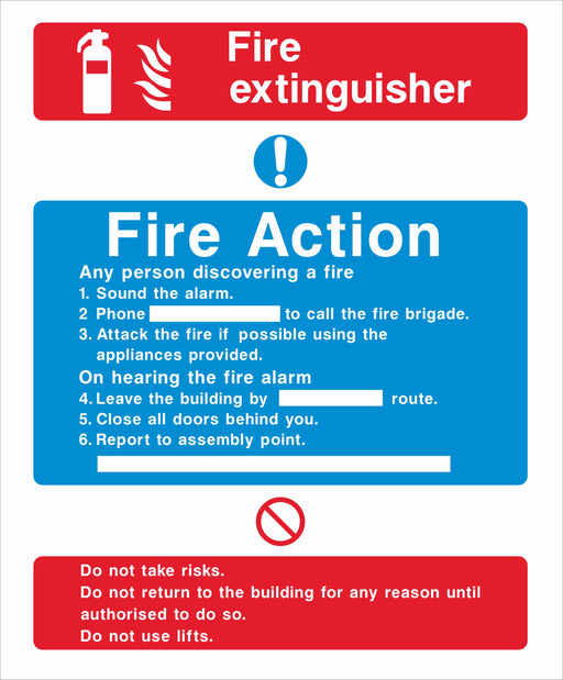 Fire Action - Fire extinguisher