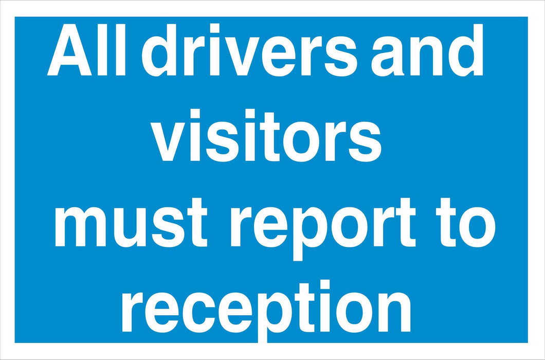 All drivers and visitors
