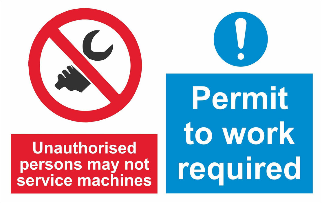 Unauthorised persons may not service machines