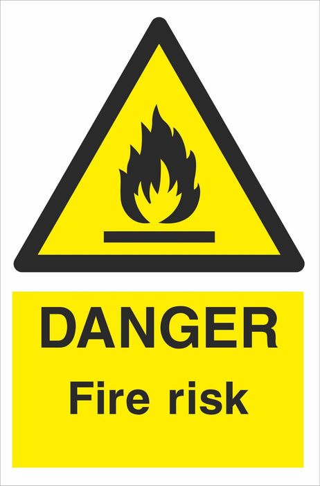 DANGER Fire risk