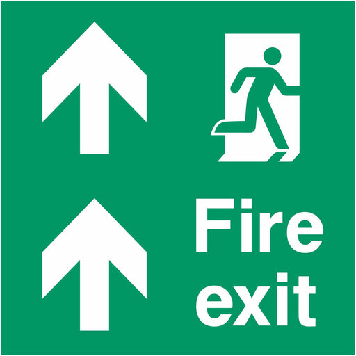 Fire exit - Running Man Right - Up Arrows
