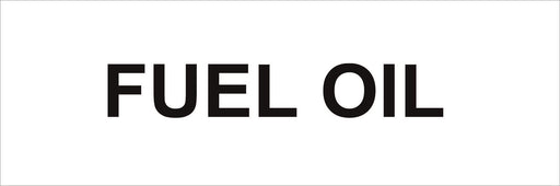 Pipeline Marking Label - FUEL OIL