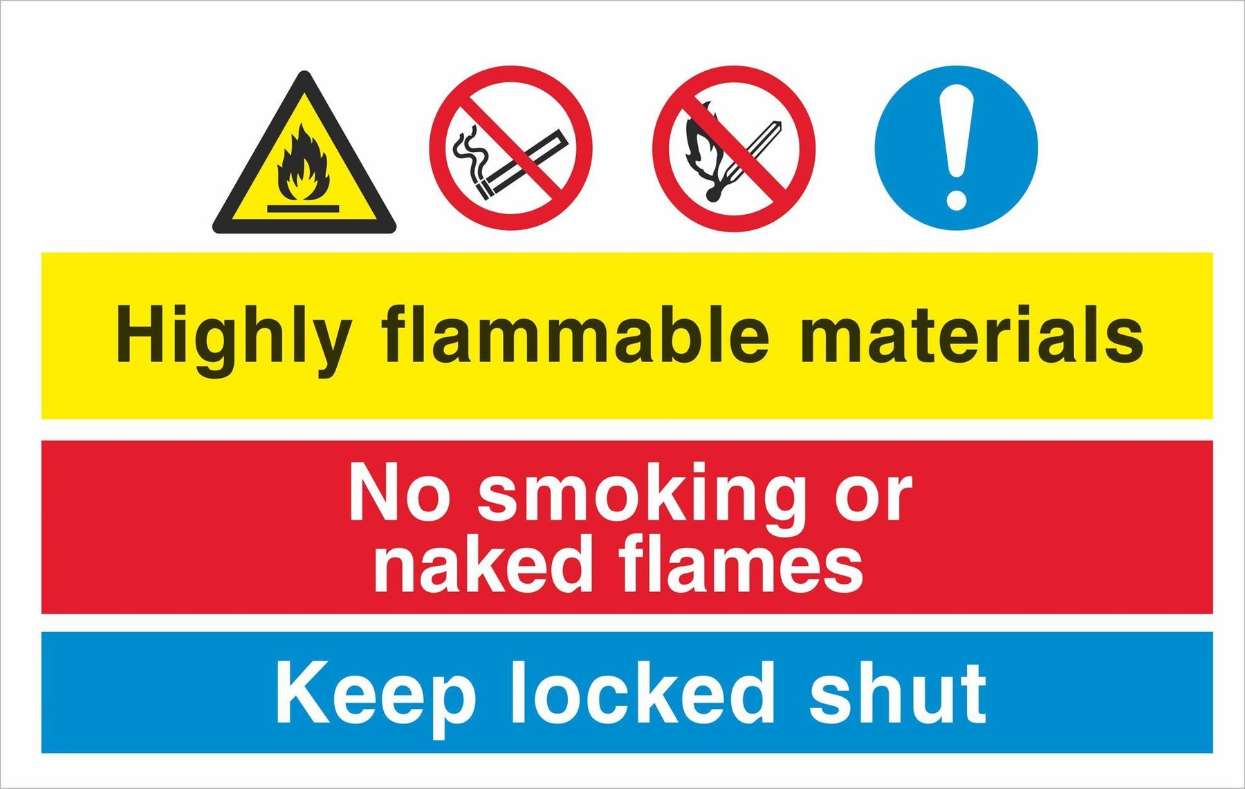 Highly flammable materials