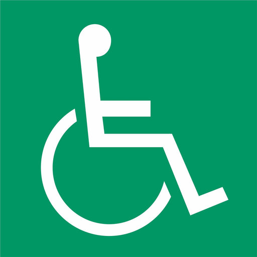Disabled refuge point symbol