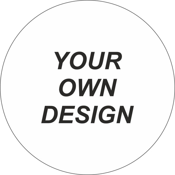 FLOOR STICKER - BLANK FOR YOUR OWN DESIGN - COVID 19 SOCIAL DISTANCING