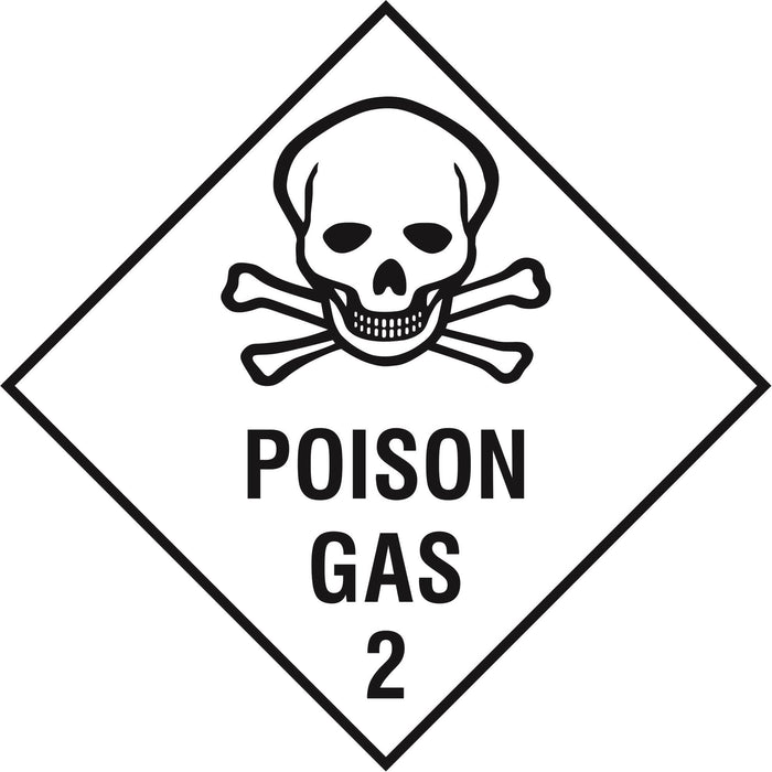 Hazardous Diamond - POISON GAS 2