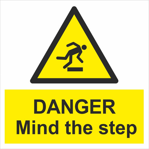 DANGER Mind the step