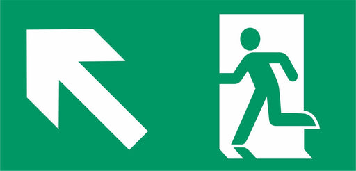 Emergency Escape - Running Man left - Left Up Arrow