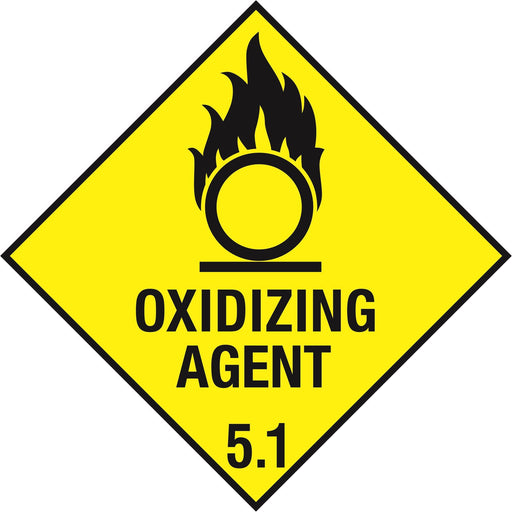 Hazardous Diamond - OXIDIZING AGENT 5.1