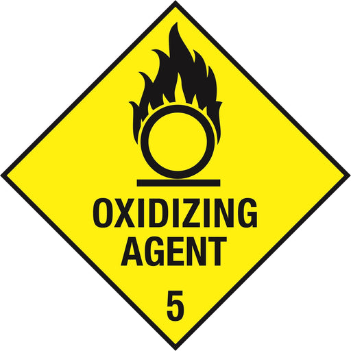 Hazardous Diamond - OXIDIZING AGENT 5