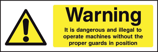 Warning It is dangerous and illegal to…….