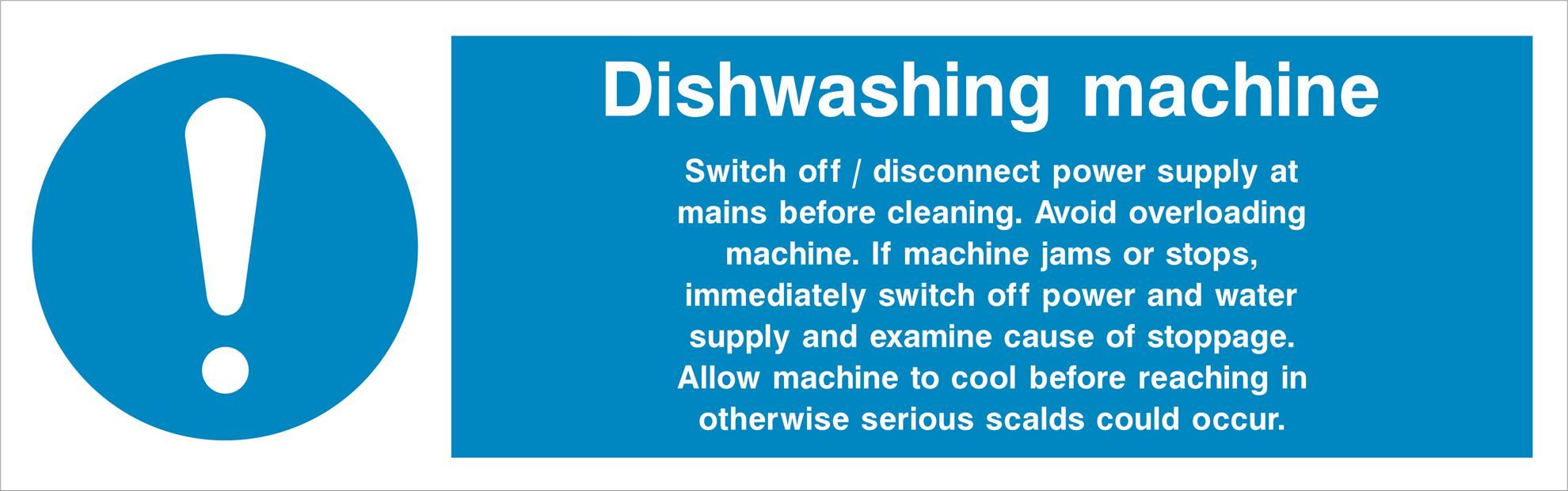 Dishwashing machine