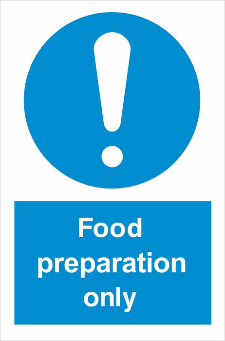Food preparation only