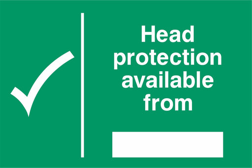 Head protection available from ….
