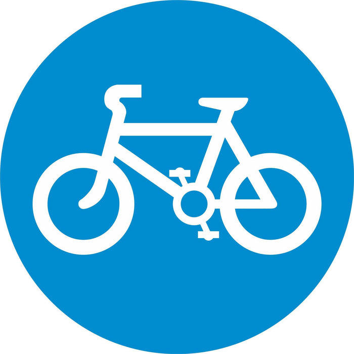 Pedal Cycles Only - Road Traffic Sign
