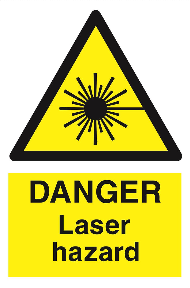 DANGER Laser hazard
