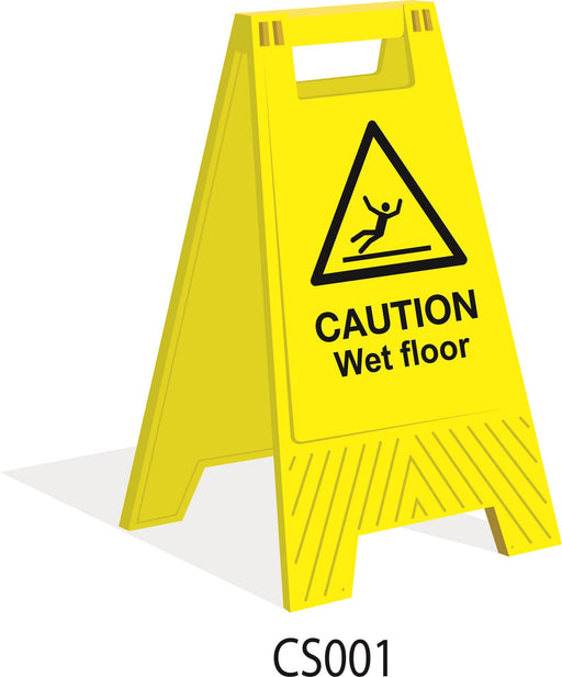 Floor Stand  - Caution Wet Floor