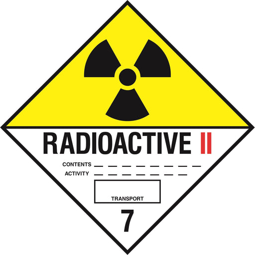 Hazardous Diamond - RADIOACTIVE 7