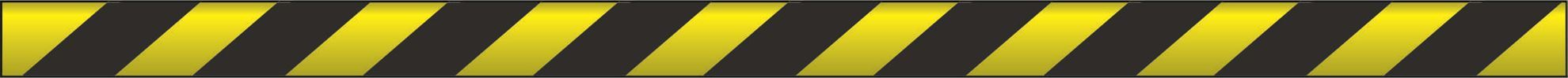 Barrier Tapes Non-adhesive - Yellow & Black