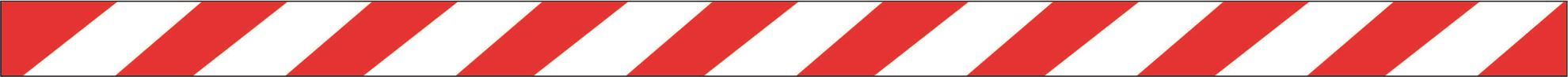 Barrier Tapes Non-adhesive - Red & White