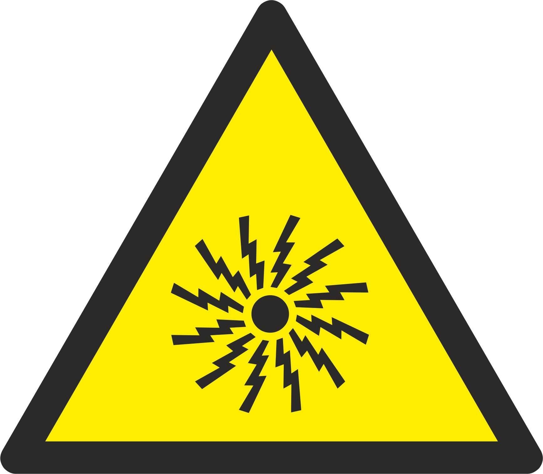 Warning Alarm - Symbol sticker sheet