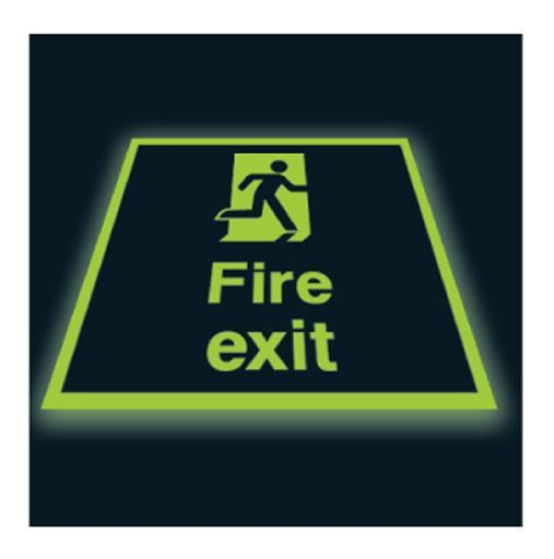 Fire exit (PHOTOLUMINESCENT)