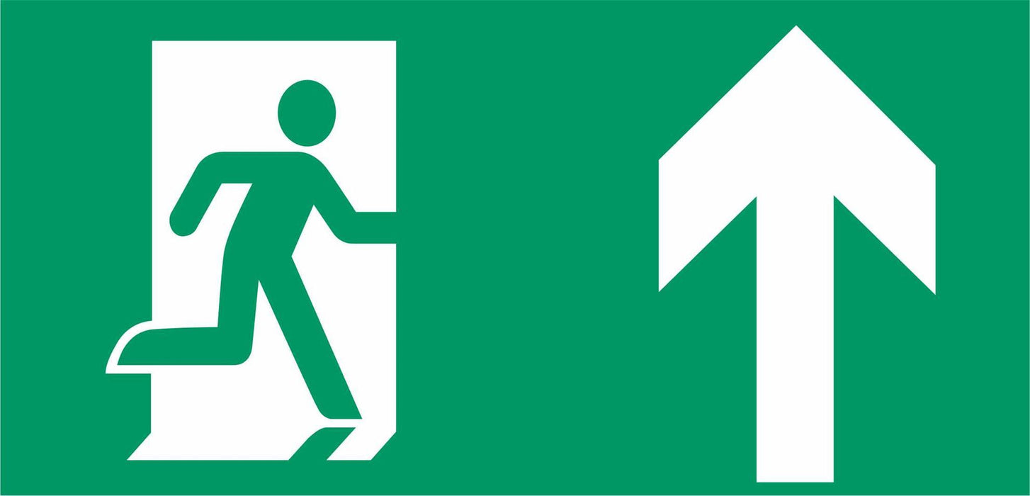 Emergency Escape - Running Man right - Up Arrow