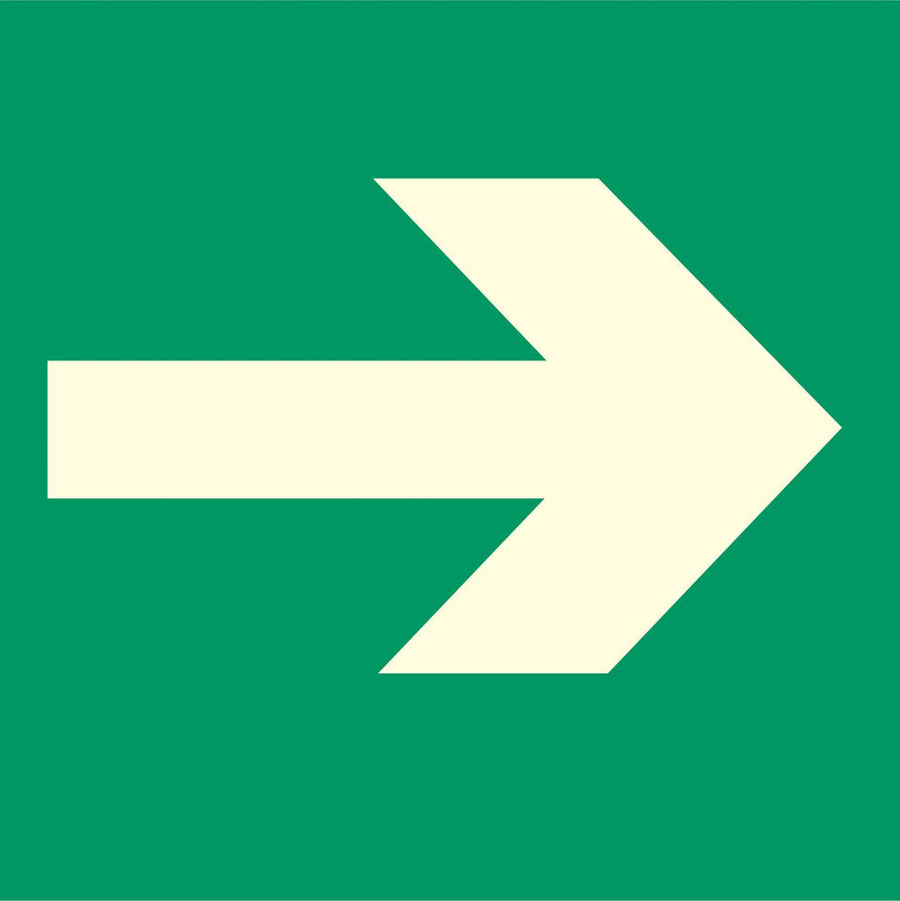 Emergency Escape - Arrow Right
