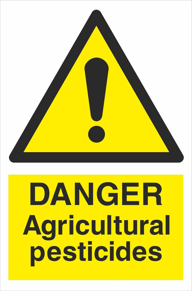 DANGER Agricultural pesticides