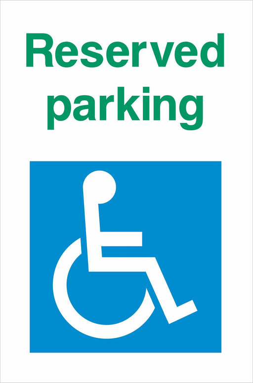 Disabled Reserved parking