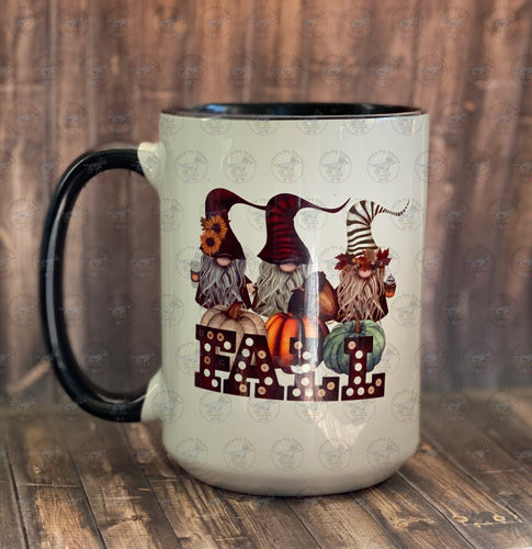 Fall Gnome Mug 15oz