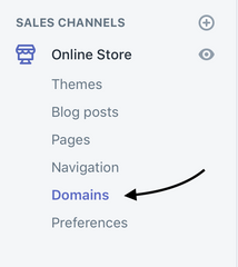 connect your domain with Shopify