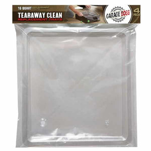 16 Quart Oil Tear Away Clean Replacement Trays (4 PACK)