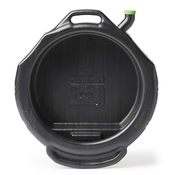 16 Quart Round Drain Pan – Open