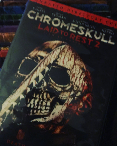 Macabre...ish Horror Reviews: Chromeskull: Laid To Rest 2