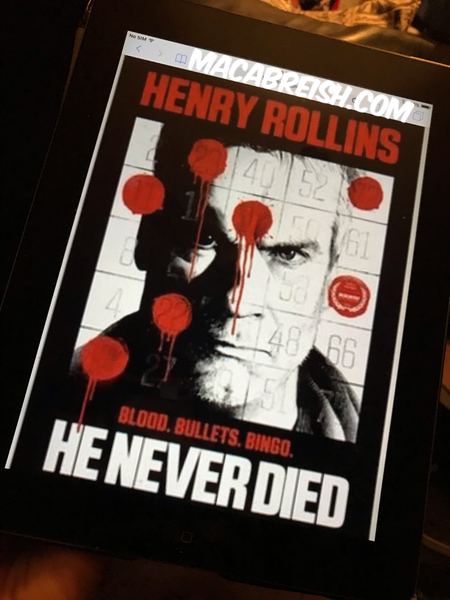 Macabre...ish Horror Review: He Never Died