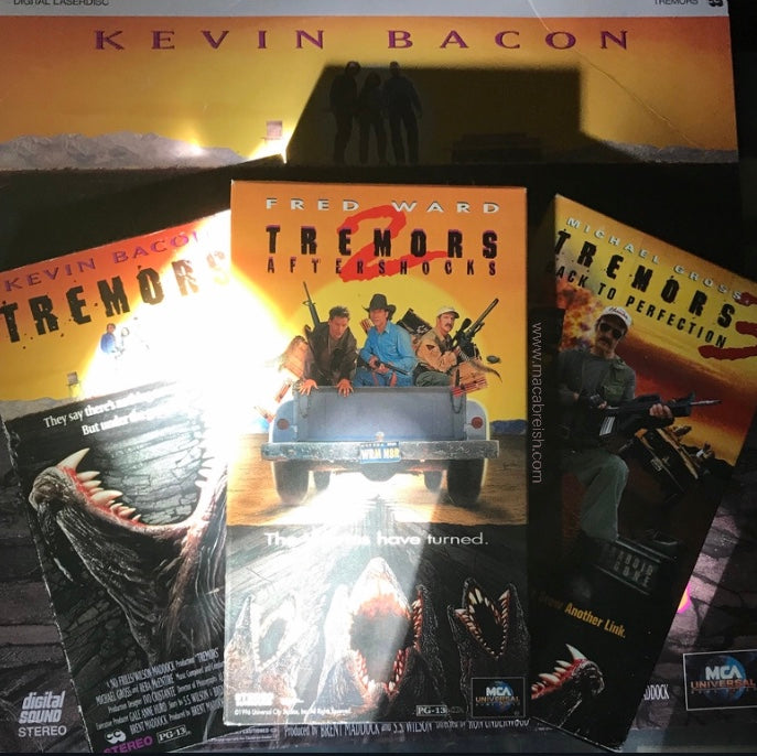Macabre...ish Horror Review: Tremors 2: Aftershocks