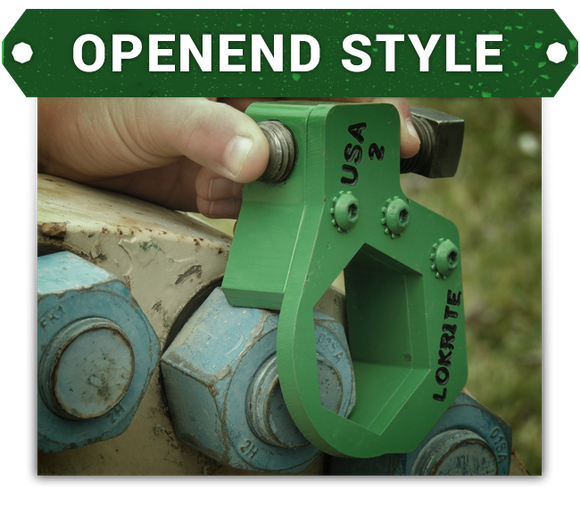 Lokrite Safety Backup Wrench - Openend Style