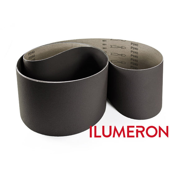 ILUMERON 2x72 Finishing Belts for Knifemaking