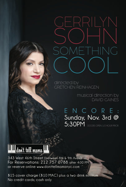 Gerrilyn Sohn - Something Cool - 110319
