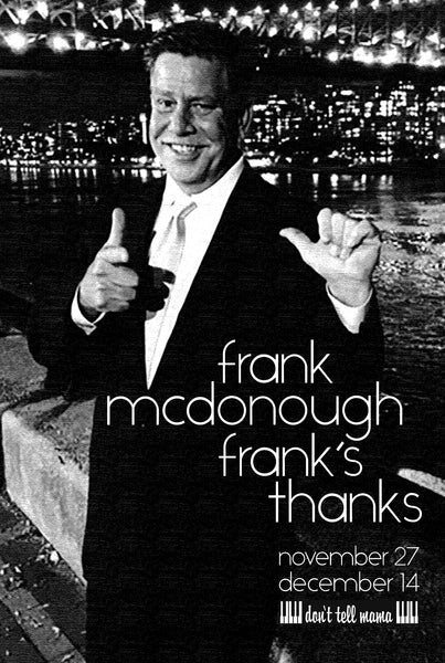 Frank McDonough - Frank's Thanks 112719