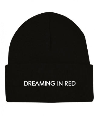 """DREAMiNG iN RED"" Beaniie"