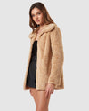 Charlie Holiday FLEECE & KNITS Margot Faux Fur Jacket