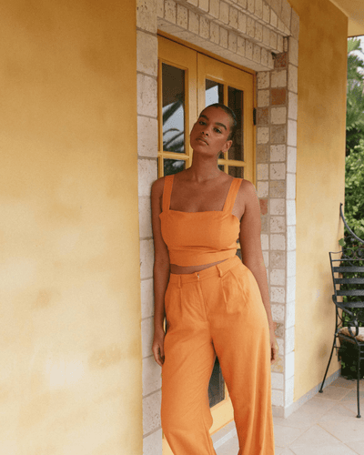 Charlie Holiday TOPS Myra Crop